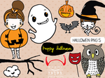 Hallowen Pngs by NoemiTutos
