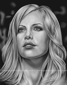 CHARLIZE 2 by pat-mcmichael