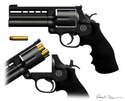 Smith and Wesson Model 725 by Nyandgate