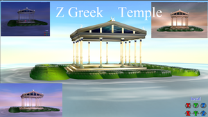 Z  Greek Temple Stage download by ZinniaE