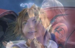 Yuna and Tidus by Crynuh