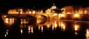 Rome By Night by El-Amigo-Chico