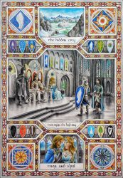 Story of Tuor, Part 4: Coming to Gondolin by MatejCadil