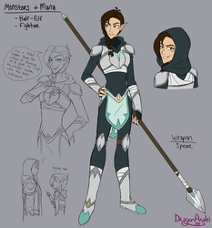 VLD OC Clara - Monsters and Mana by DragonAnalei