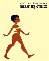 365 sketches - break my stride by daughter-thursday