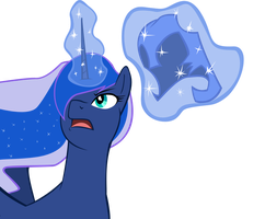 My Little Vector ~ Luna by Rudahn