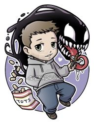 Commission - Symbrock Chibi by DeanGrayson