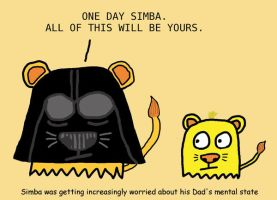 Lion King - Darth Mufasa by wackiest