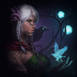 Guild Wars 2 Portrait Commissions - Alienor by jylgeartooth