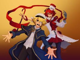 Oliver and Fukase | VOCALOID by tambri-art
