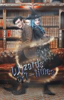 Wizard oft-time - wattpad cover by xjowey02