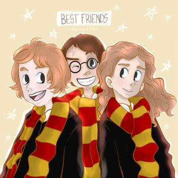 Best Friends - Potterweek by Zusuriki