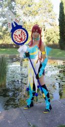 Cosplay Erza Lightning Empress Armor by Rinvalle