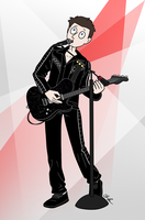 Matt Bellamy 2.0 by pinearts