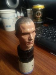 Custom Christian Bale 1/6 process by NightT47