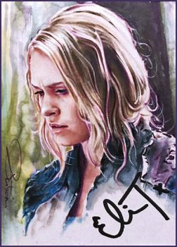 Clarke Griffin -autographed by DavidDeb