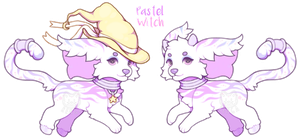 {Day 3 - Pastel Witch - CLOSED} by Renga-ADOPTS