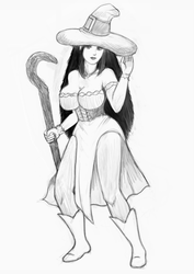 Dr Crown's sorceress v2 by ruberboy