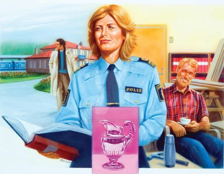 Weekly magazine...2-(Police inspector K) by JohnnyPahlsson