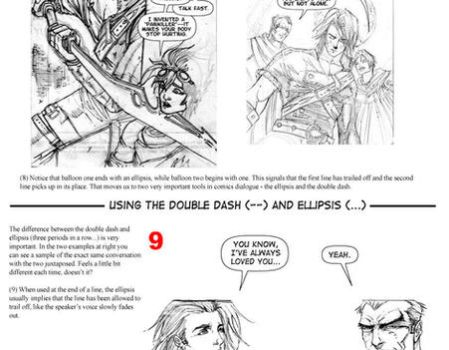Comics Lettering Theory Part 1 by themightyfro