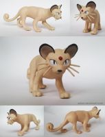 Pokemon Persian Sculpture (for sale)