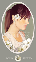 Robin Tunney - irish beauty by painted-in-red