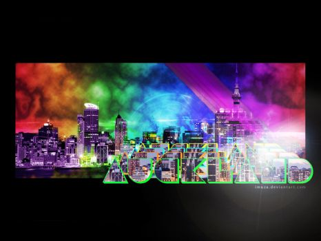 Auckland City wallpaper by imuza
