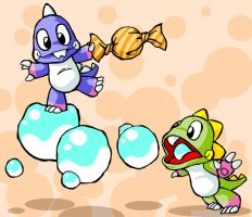 Bubble Bobble by Sachmoe64