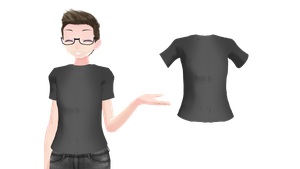 MMD TDA Male Shirt by FrostyChica