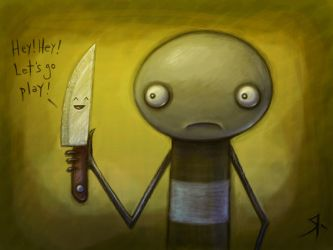 Naughty Knife by rubr