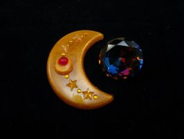Sailor V crescent compact by starlit-creations