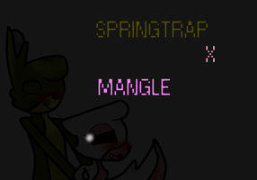 Springle (springtrap x mangle) by DjAppleblazegame