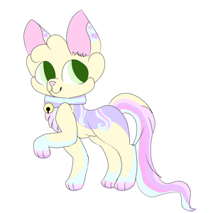 Creme adopted from WolfyTheAlicornWolf by Pepsi-Meth