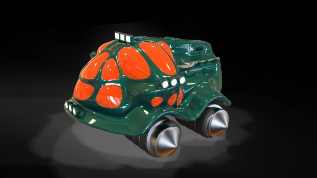 TESH-driven vehicle by Dlordtesh