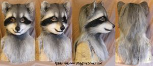 Relay Racoon by Magpieb0nes