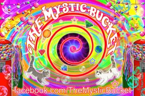 Commission - Mystic Bucket car magnet design by Myrcury-Art