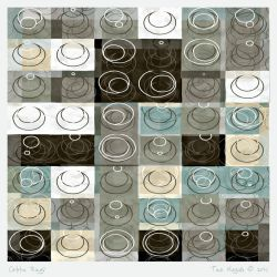 Coffee Rings by aartika-fractal-art