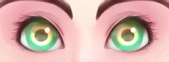 [Brush Test] Eyes by Milk-Addicc