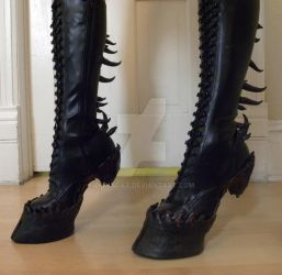 Heelless Hooves  for costume- Made to order by oonacat