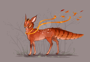 Mystic autumn beast [Closed] by NocturRain