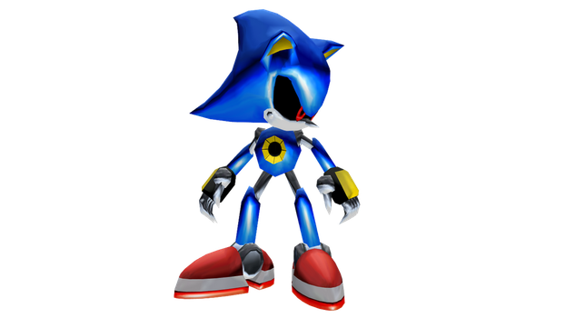 Metal Sonic (Sonic Adventure 2) for MMD by MakutaKorzak
