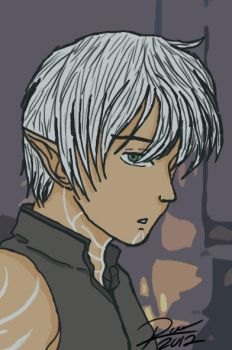 My Fenris......not willing to share ^.^ by Reesha2