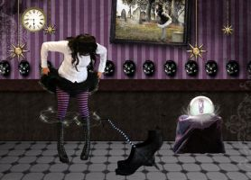 Time to go in my magic shoes by aninur