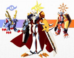 Together they are...Omnimon. by Jonas64