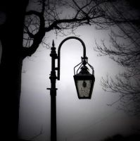 Park lampost by lostknightkg