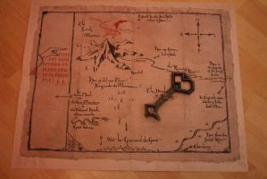 My Map and my Key by Noshi-Chan