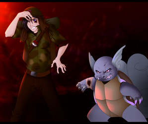Private Tommy Black and Panzer - Redraw by Tigryph