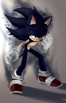 Can't hold the darkness + speedpaint by Myly14