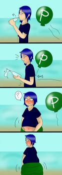 Comm: Balloon Inflation 1-2 by chubbystuck-lover