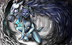 KINDRED~~ LoL by toxidic